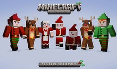 Minecraft Skin Festive Pack