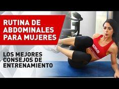 Rutina de Abdominales para Mujeres - YouTube