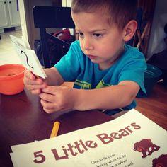 5 little bears song