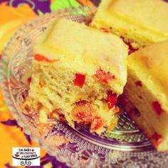 Cake poivrons chorizo