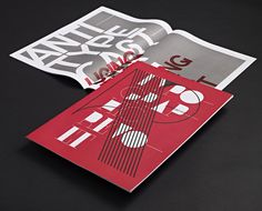 Typographic Revolt Edition 1 – Direct Mailer for HypeForType. A quick read through A3 magazine which also doubles up as a set of 8 typographic posters. Each page folds out to create an A2 double sided poster.