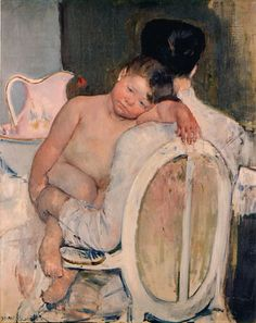 Mother Holding a Child in Her Arms - Mary Cassatt Fine Art Reproduction Oil Painting Edouard Manet, Pierre Auguste Renoir, Museum Of Fine Arts, Art Museum, Mary Cassatt Art, Kunsthistorisches Museum, Berthe Morisot, American Impressionism, Impressionist Artists