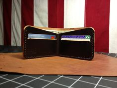 Shell Cordovan Bi-fold wallet. www. 440gentlemansupply.com