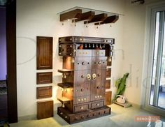 Traditional Wooden Cabinet