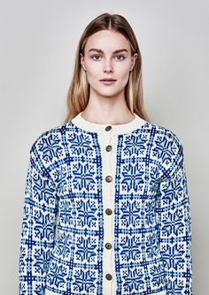Ravelry: 42 Norske Kofter fra Lindesnes til Nordkapp - patterns Fair Isle Knitting, Facon, Bunt, Color Combinations, Knitting Patterns, Style Me, Shirt Dress, Model, Sweaters
