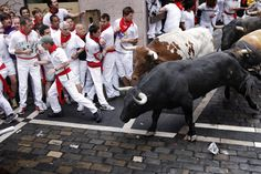 Crazy but true, I ran with the bulls in Pamplona, Spain :)