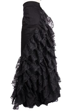 Gothic Prom Skirt from www.odiumclothing.net