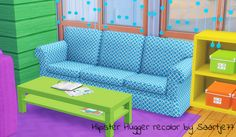 Sims 4 CC's - The Best: Hipster Hugger Sofa Recolors by Saartje77