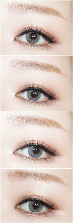 Want instant bright eyes?!Euramerican green-gray contact lens/Order now!>>http://www.ttdeye.com