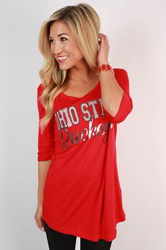 Ohio State University Statement Tunic