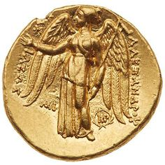 Coins - Gold - Ancient Hellenistic Art, Ancient Goddesses, Coin Art, Gold Money, Gold And Silver Coins, Antique Coins, Greek Art, Rare Coins, Coin Collecting