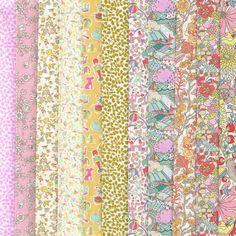 Liberty Fabric Tana Lawn Garden of Dreams Selection of 11 Fat Quarters 841