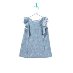 frilly dress - View All - Baby girl - Kids - ZARA United States Baby Outfits, Outfits Niños, Little Girl Dresses, Kids Outfits, Little Girl Fashion, Fashion Kids, Zara Baby, Stylish Baby, Kid Styles