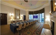 #London-Chandos House: http://www.venuedirectory.com/venue/22734/chandos-house - Each meeting room has it's own character, containing original architectural  period features such as marble fireplaces, painted ceiling murals and crystal chandeliers. Every meeting room also features very large windows as well as high ceilings, making them a pleasure to sit in for delegates whether it's a short board #meeting or full-day #conference.