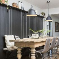 42 What The In Crowd Won T Tell You About Elegant Bench For Dining Room Furnitures Accent Wall In Kitchen Shiplap Accent Wall Elegant Benches