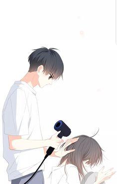 Anime Cupples, Anime Kiss, Anime Couples Manga, Cute Anime Couples, Kawaii Anime, Cute Couple Art, Anime Love Couple, Manga Couple, Manga Love