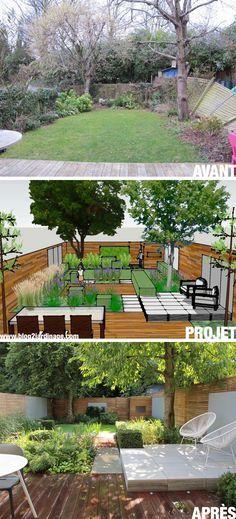 15 Small Backyard Ideas To Create a Charming Hideaway Kleine Hinterhofideen – Nu… – Garten – Balcony Small Back Gardens, Small Backyard Gardens, Small Backyard Landscaping, Modern Landscaping, Outdoor Gardens, Backyard Ideas, Landscaping Ideas, Courtyard Gardens, Zen Gardens