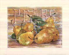 Fruit Stand Pears Fine-Art Print by Jerianne Van Dijk at UrbanLoftArt.com