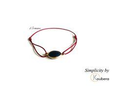 #koubera #accessoire de mode #bijoux #bracelet #pierre #agate #plaque or #simplicity #mode #femme #2015