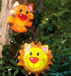 Lanterns for everyone Buy TOPP craft books online - Metarnews Sites Owl Crafts, Preschool Crafts, Easy Crafts, Diy And Crafts, Balloon Lanterns, Balloon Decorations, Balloons, Diy For Kids, Crafts For Kids