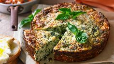 This savory cake will be a hit with the whole family.