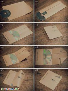 CD - DVD tok készítés, akár egy fehér A/4 papírból is lehet