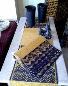 Matching runner & tablemat