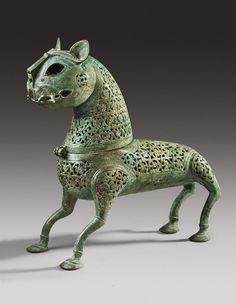 Islamic Bronze Incense Burner,  ca. 11th Century A.D. | Work of art | Phoenix Ancient Art S.A