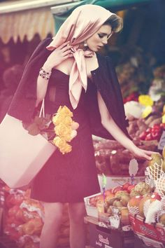 beautiful, mysterious and sexy Promenade // L'Officiel Ukraine // February 2013 by Marzia Fossati, via Behance