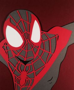 Miles Morales, Spider-Man Paper Cut-Out - DocGold13