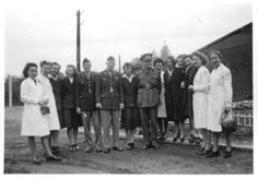 Tongres, Volunteers Graduate, from 25th General Hospital: Courage & Skill in World War II -- for an exhibit highlighting movements, personal     narratives and medical contributions see http://digitalprojects.libraries.uc.edu/exhibits/25thGeneralHospital/;     for entire collection see http://digproj.libraries.uc.edu:8180/luna/servlet/s/4lcgzb; connect on Facebook and     share your own WWII General Hospital stories at http://www.facebook.com/UC25thGeneralHospital.