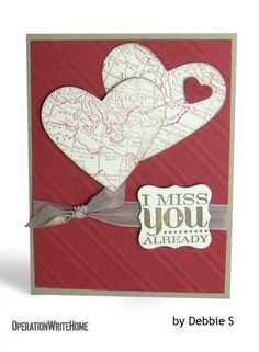 62 best miss you cards images on pinterest homemade cards very cool miss you card httpoperationwritehome m4hsunfo