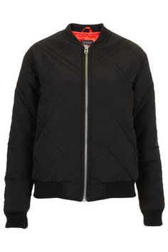 Nylon Quilted Bomber  5bd5abd89