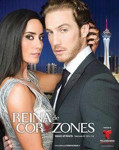 Paola Nunez y Eugenio Siller en Reina De Corazones.