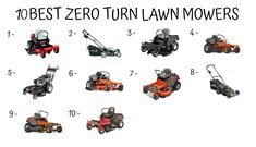 Zero Turn Riding Mowers