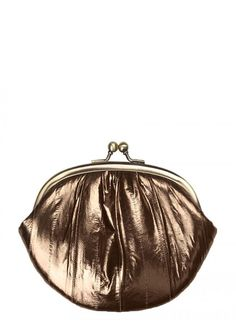Beck Sondergaard Granny purse in Chocolate gold - A great range of Beck Sondergaard Granny Purse In Chocolate Gold from Blue Saffron Walden , independent fashion boutique and home of elegant ladies wear.