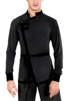 DSI Denys Mens Latin Shirt 4021 | Dancesport Fashion @ DanceShopper.com