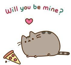 Pusheen the Cat {gif} Fat Cats, Cats And Kittens, Crazy Cat Lady, Crazy Cats, Pusheen Love, Pusheen Stuff, M Anime, Nyan Cat, Kawaii Cat