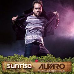 #Alvaro is ready to bring his beats to #sunrise #festival