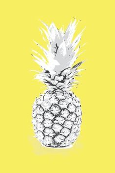 Bright Pineapple Yellow from Wallstudio is the perfect pop of colour!
