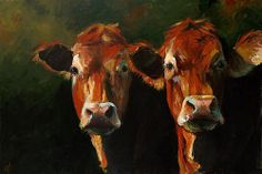 Two Limousins  By Cari Humphry
