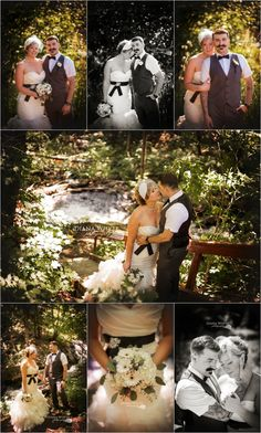 bride and groom forested bridal portraits wedding details port sydney Diana Whyte Photography
