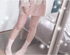 Baby Pink Aesthetic, Daddy Aesthetic, Aesthetic Clothes, Ropa Interior Babydoll, Kawaii Clothes, Kawaii Fashion, Cute Pink, Korean Girl, Cute Girls