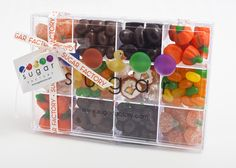 Tackle boxes filled with candy are great gift ideas too!