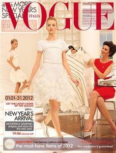 Caroline Trentini for Vogue Italia January 2012