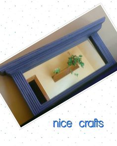 Autentico chalk paint Azul escandinavo y cera marron claro