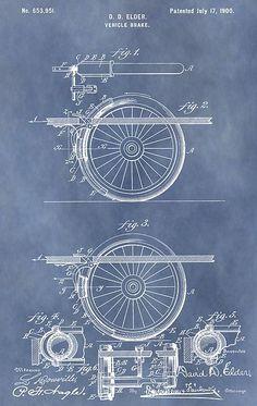 Vintage Brake Patent