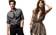 H & M Fall 2010 Ad Campaign Models: Daria Werbowy & Jon Kortajarena. Ph: Daniel Jackson