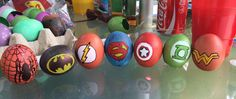 #easter egg - superman, batman