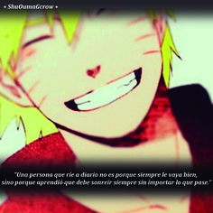 Una persona que ríe a diario  #ShuOumaGcrow #Anime #Frases_anime #frases